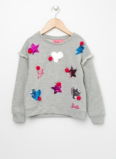Barbie Sweatshirt Gri